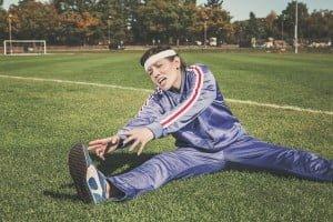 Deporte y estiramientos