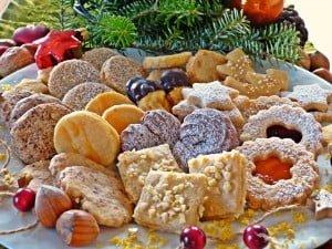 Navidad y galletas