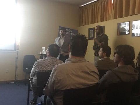 Drs. Lorenzo y Oto en reunión de invierno de SEPES