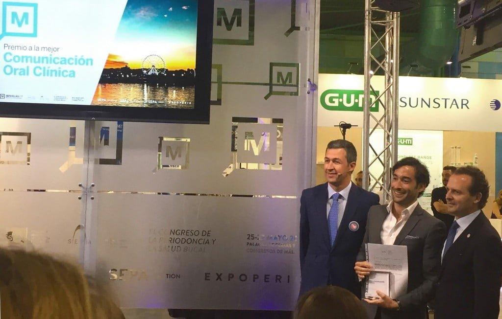 Dr. Ortiz-Vigón premiado en SEPA Málaga