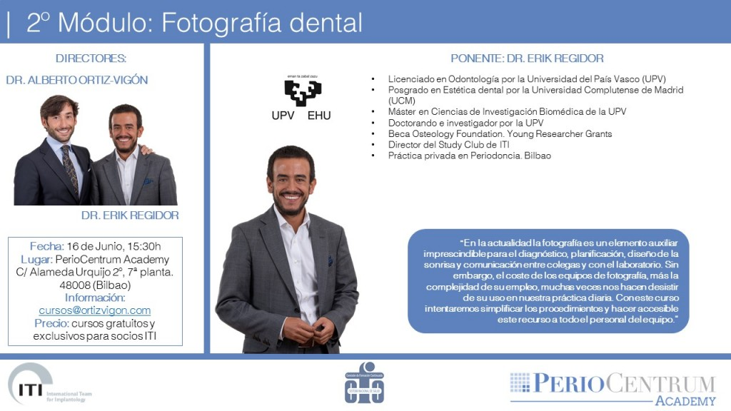 Módulo 2 de Study Club: fotografía dental