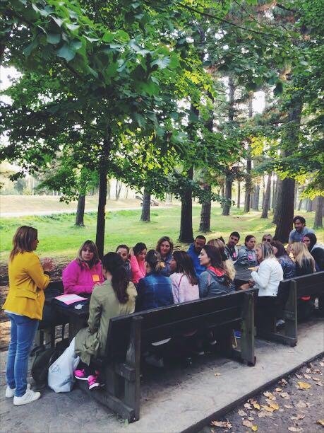 Día de actividad de equipo de Clínica Ortiz-Vigón de Bilbao