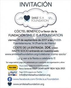 Cocktail solidario en favor de Smile is a Foundation