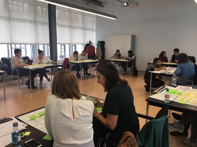 """Curso de Bilbao Ekintza """"Innovación centrada en las personas"""""""