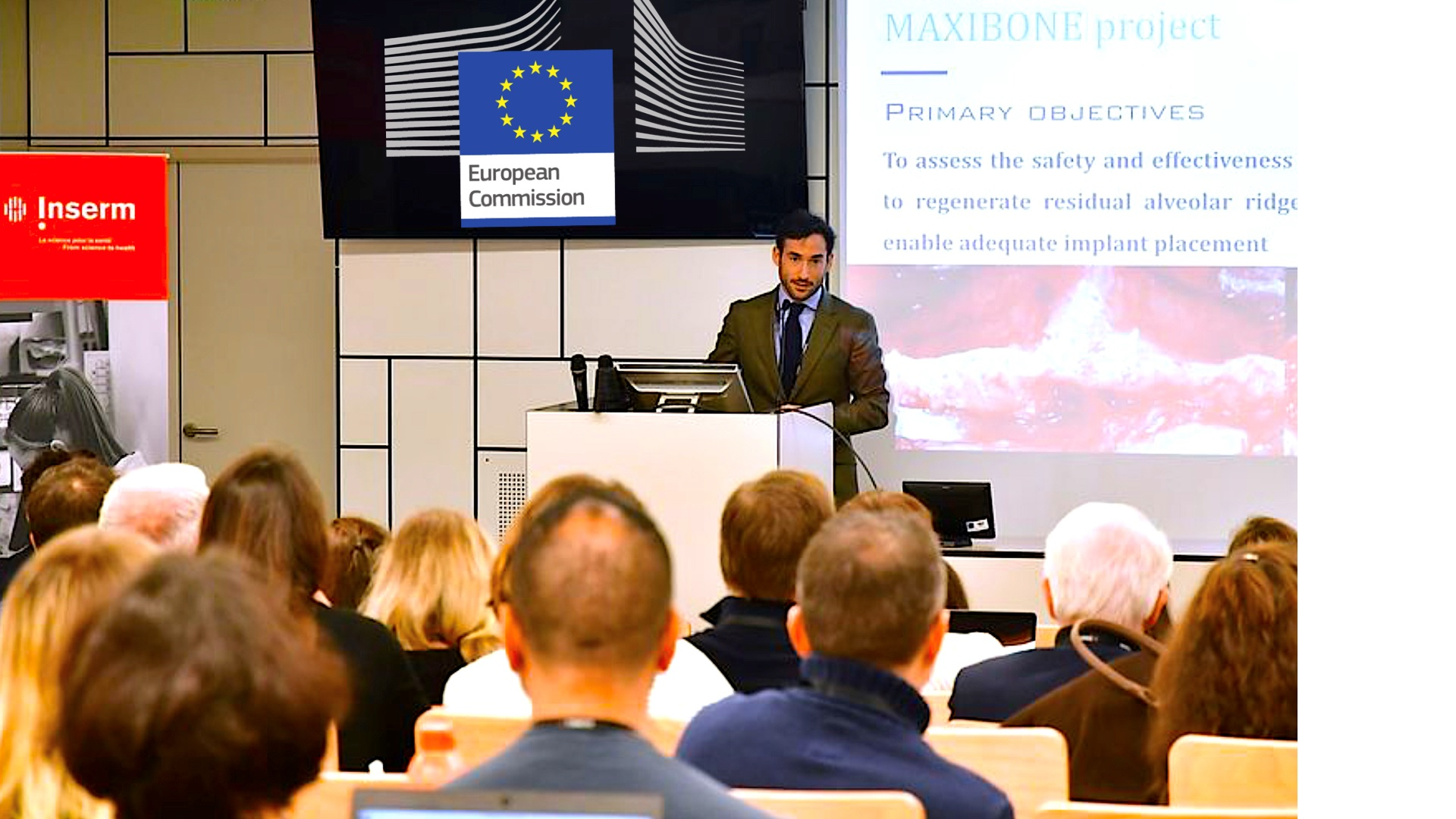 Poyecto Europeo H2020 Maxibone - Dr. Ortiz-Vigón