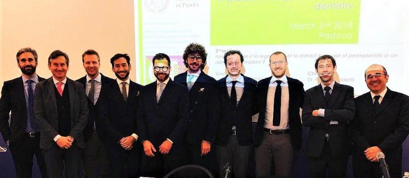 Cara a cara odontológico en el congreo organizado por la Universidad de Padua