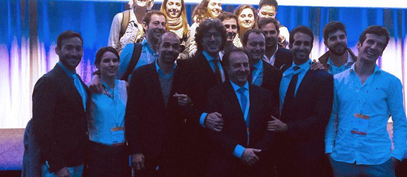 EuroPerio: Alberto Ortiz-Vigón, Fabio Vignoletti y Eduardo Montero con más compañeros