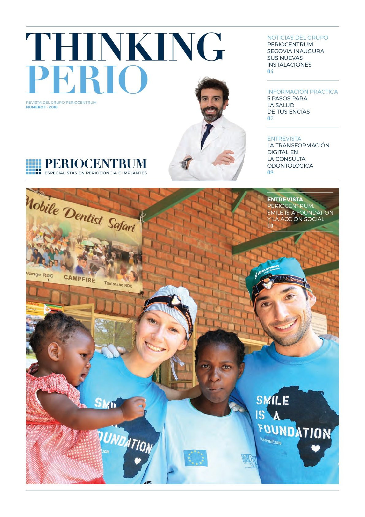 Revista ThinkingPerio 1: novedades del sector dental