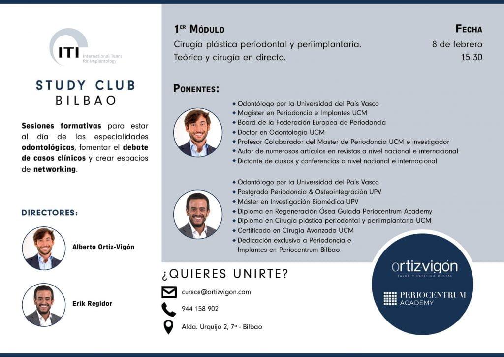 Study Club Bilbao: Módulo 1