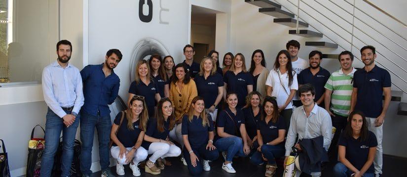 Visita del equipo de la Clínica Ortiz-Vigon a Createch Medical