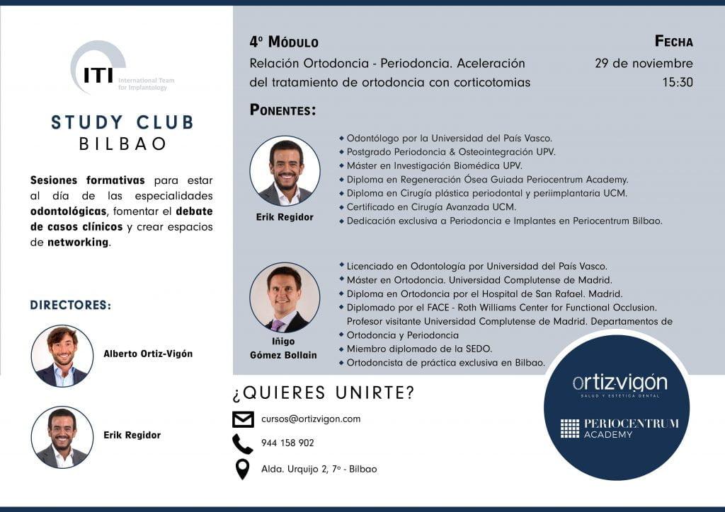 4º módulo 2019 ITI Study Club Bilbao