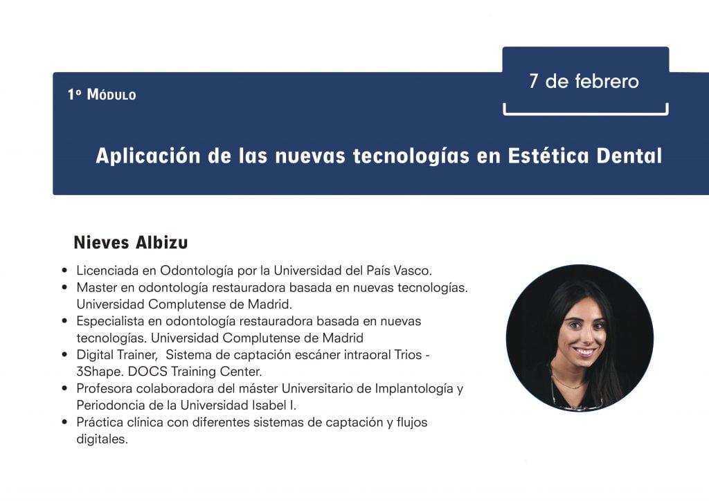 ITI Study Club 2020- Nieves Albizu