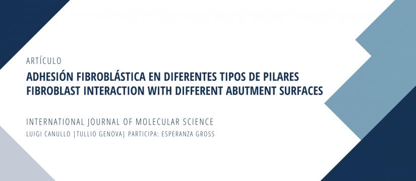 Publicación Adhesión Fibroblastica