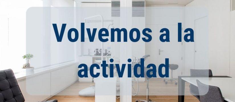 Vuelta a la actividad en la clíncia Ortiz-Vigón post covid 19