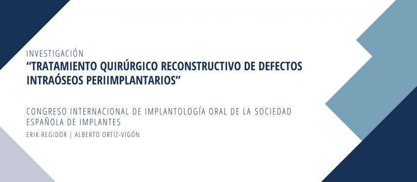 Banner Reconstrucción de defectos intraóseos periimplantarios