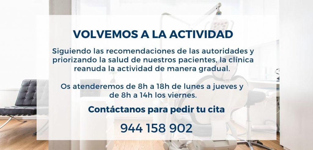 Nuevo horario Ortiz-Vigón post covid 19
